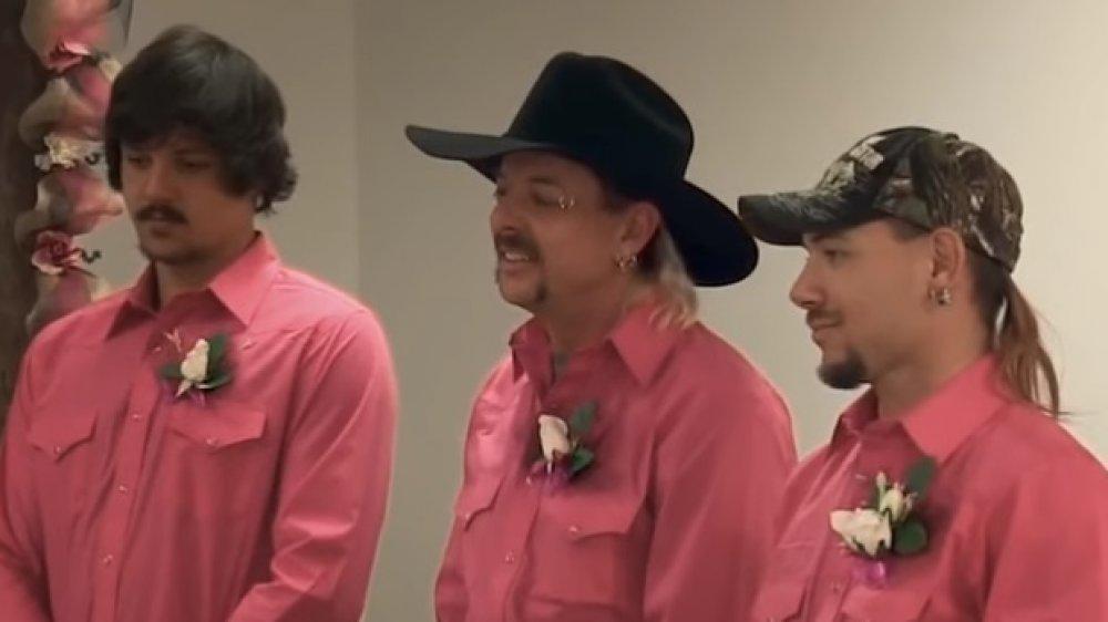 Travis Maldonado, Joe Exotic, John Finlay