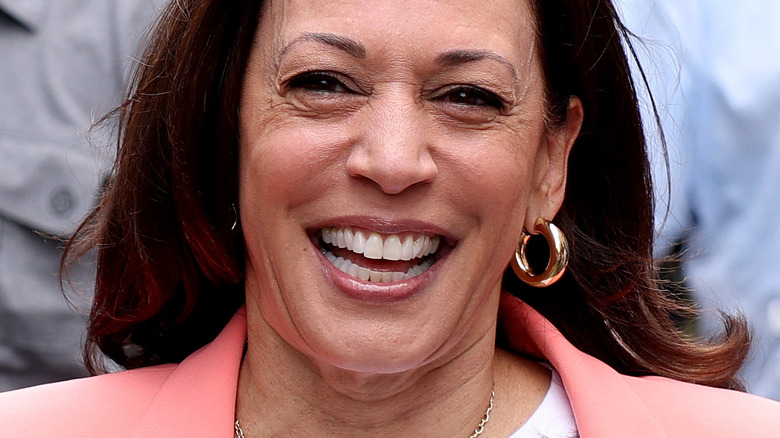 Kamala Harris smiling