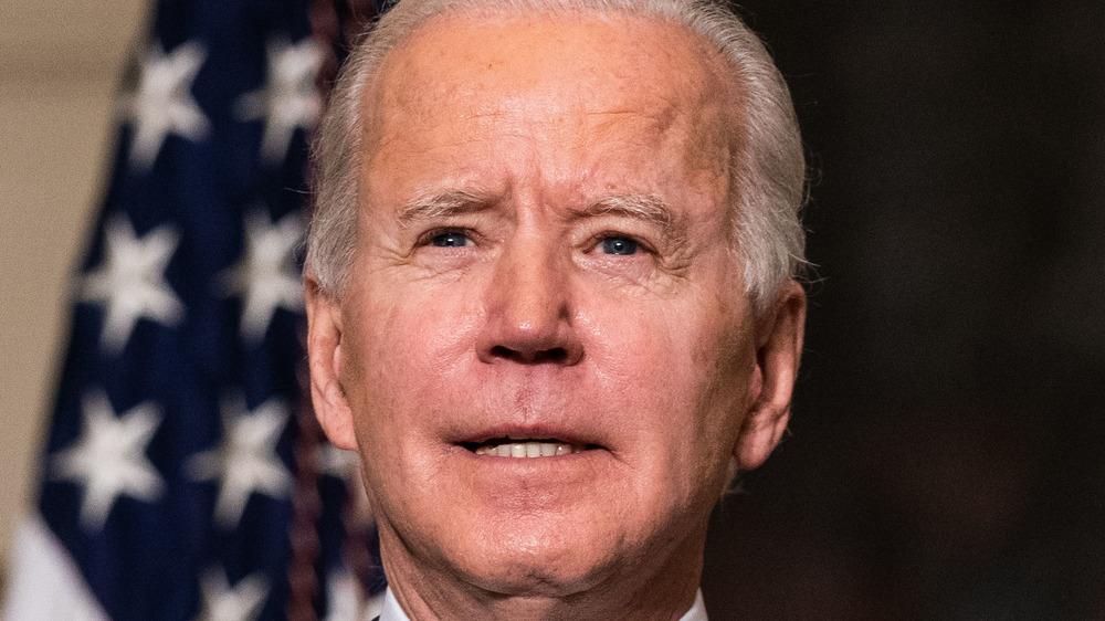 Joe Biden and Jill Biden during the Democratic National Convention