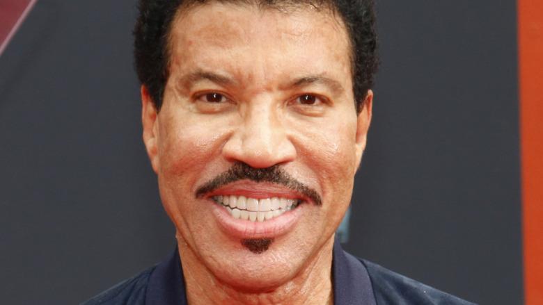 Lionel Richie smiling