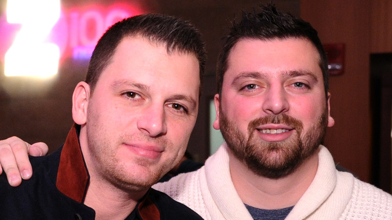 Chris Manzo and Albie Manzo, event