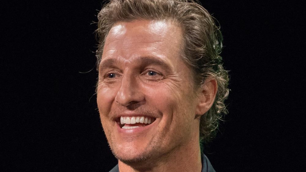 Matthew McConaughey smiling