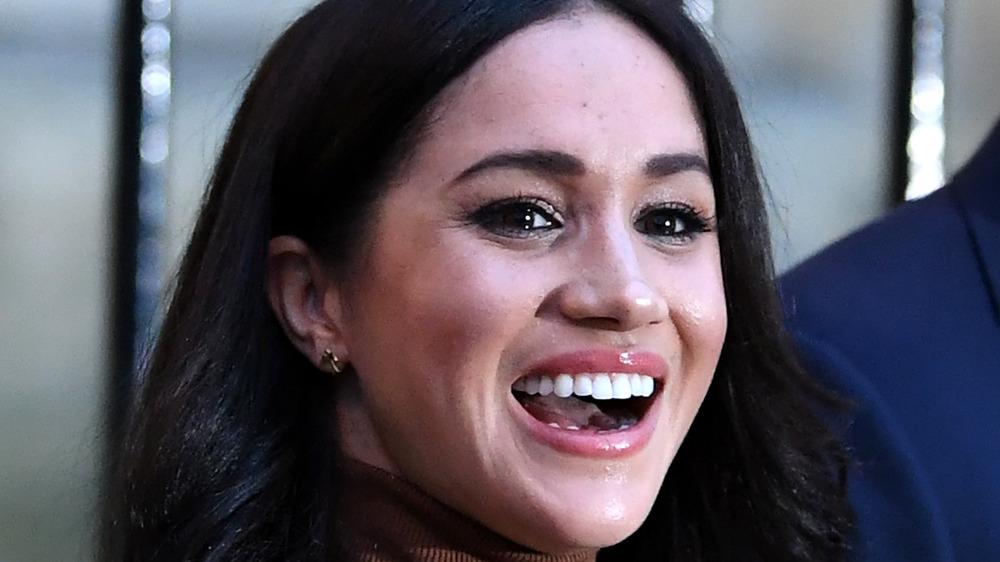 Meghan Markle smiling