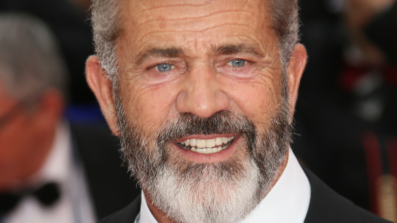 Mel Gibson at Cannes Film Festival in tux 2016