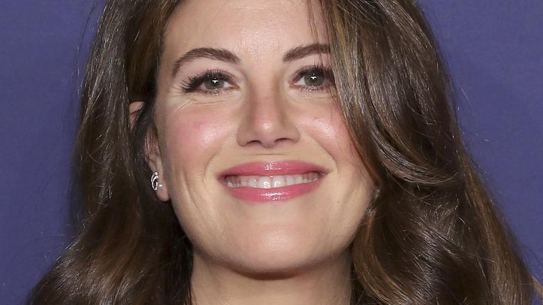 Monica Lewinsky smiling broadly