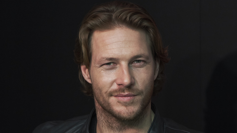 Luke Bracey at a Polo Red Fragrance event in Spain