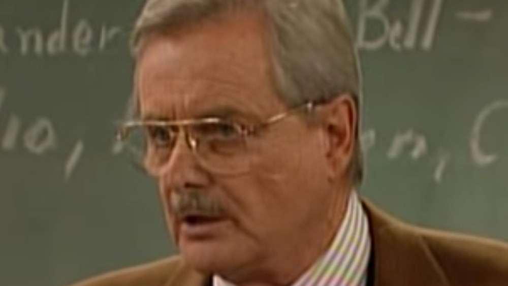 William Daniels of Boy Meets World in the '90s