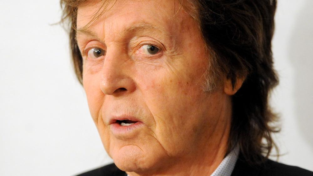 Paul McCartney inquisitive