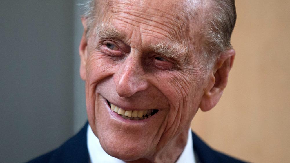 Prince Philip, smiling