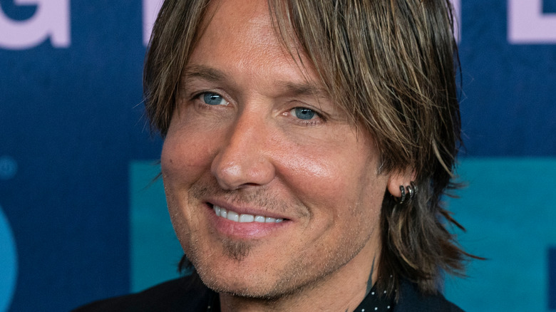 Keith Urban on a red carpet