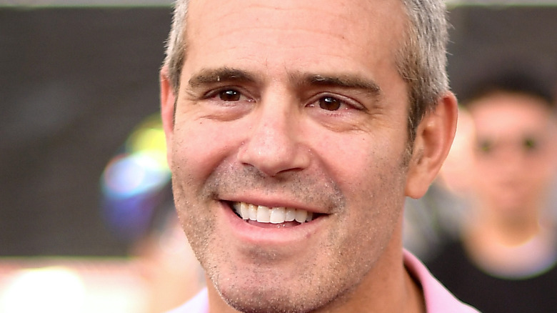 Andy Cohen on the red carpet