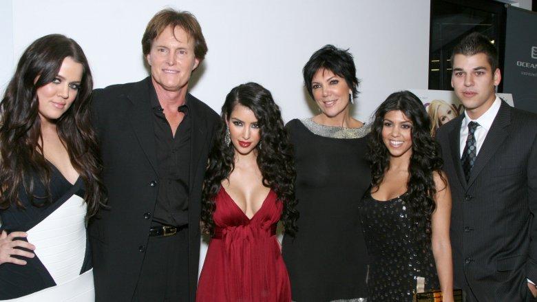 Khloe Kardashian, Caitlyn Jenner, Kim Kardashian West, Kris Jenner, Kourtney Kardashian, Rob Kardashian