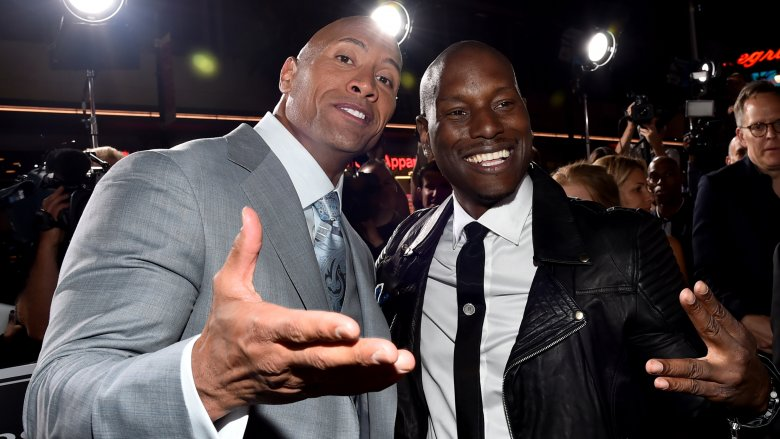 The Rock & Tyrese
