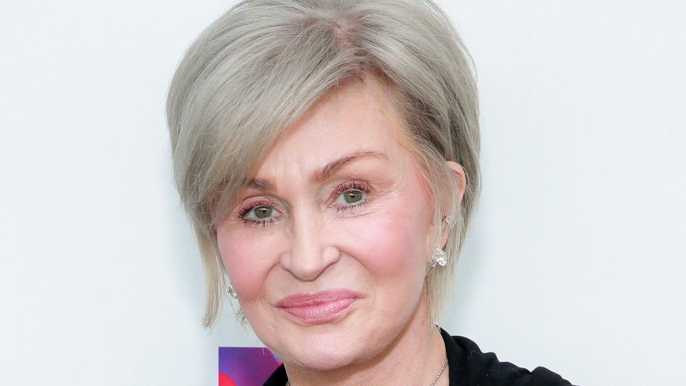 Sharon Osbourne smirk