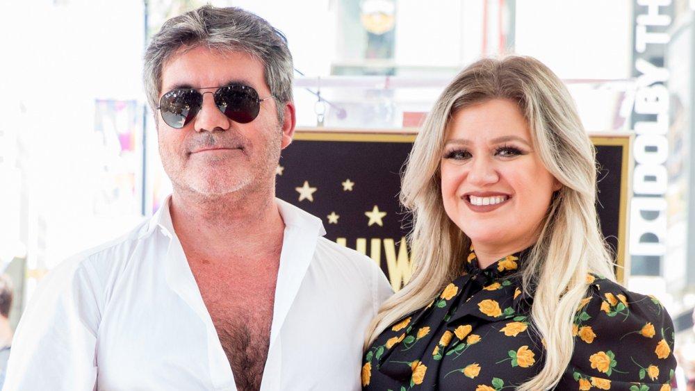 Simon Cowell & Kelly Clarkson