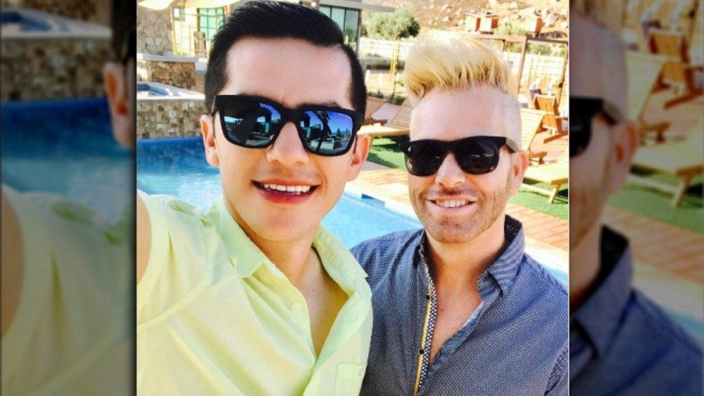 Armando Rubio and Kenneth Niedermeier in a 2017 selfie