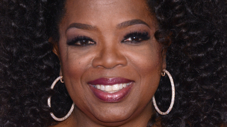 Oprah Winfrey hoops