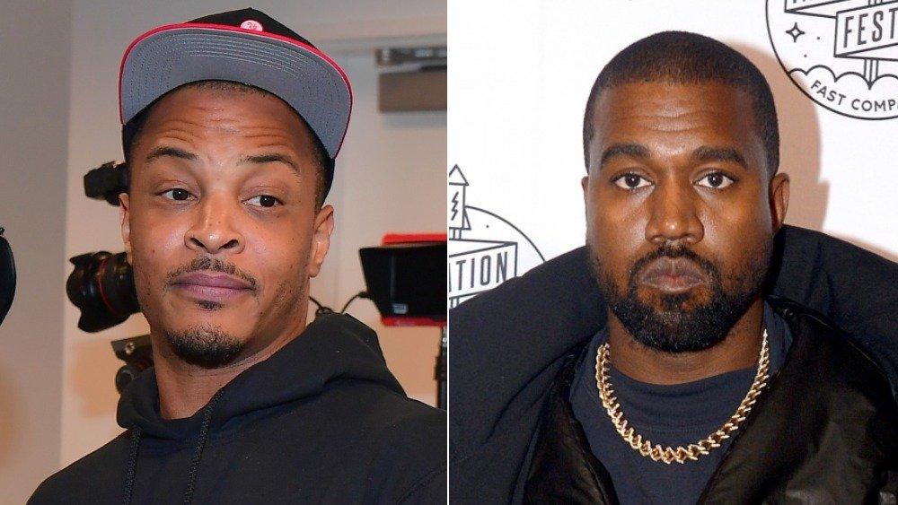 """Kanye West, Tip """"T.I."""" Harris"""