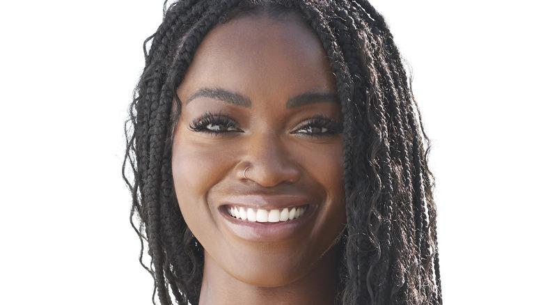 Tahzjuan Hawkins smiling on the beach