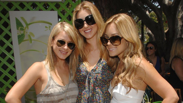 The Hills stars Lo Bosworth, Whitney Port, and Lauren Conrad