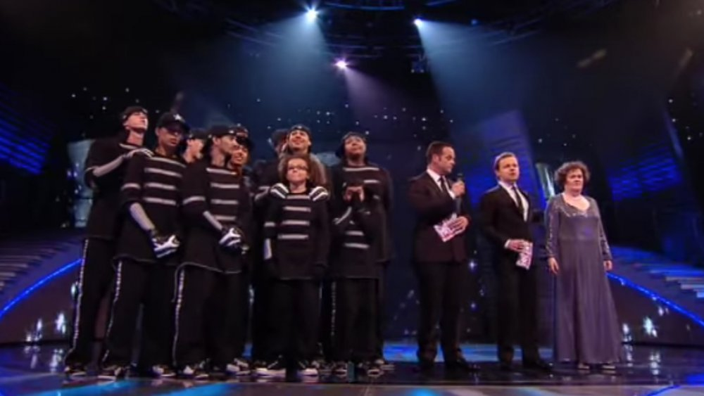 Susan Boyle and Diversity made it to the finals of Britain's Got Talent