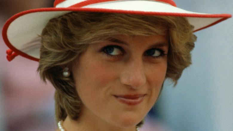 Princess Diana hat