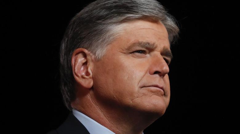 Sean Hannity's side profile