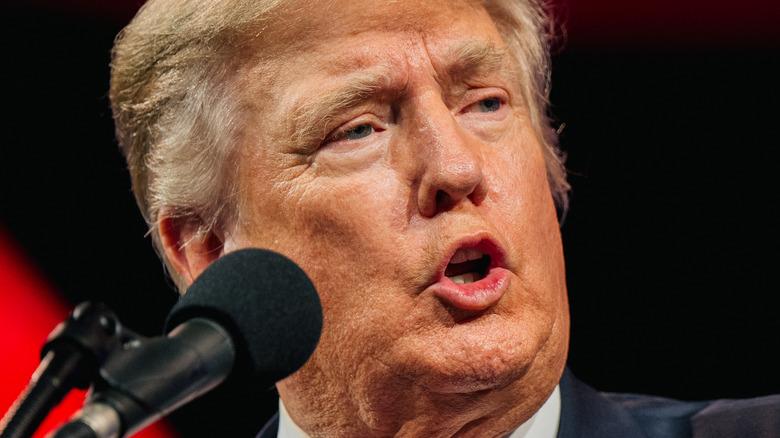 Donald Trump speaking at CPAC 2021