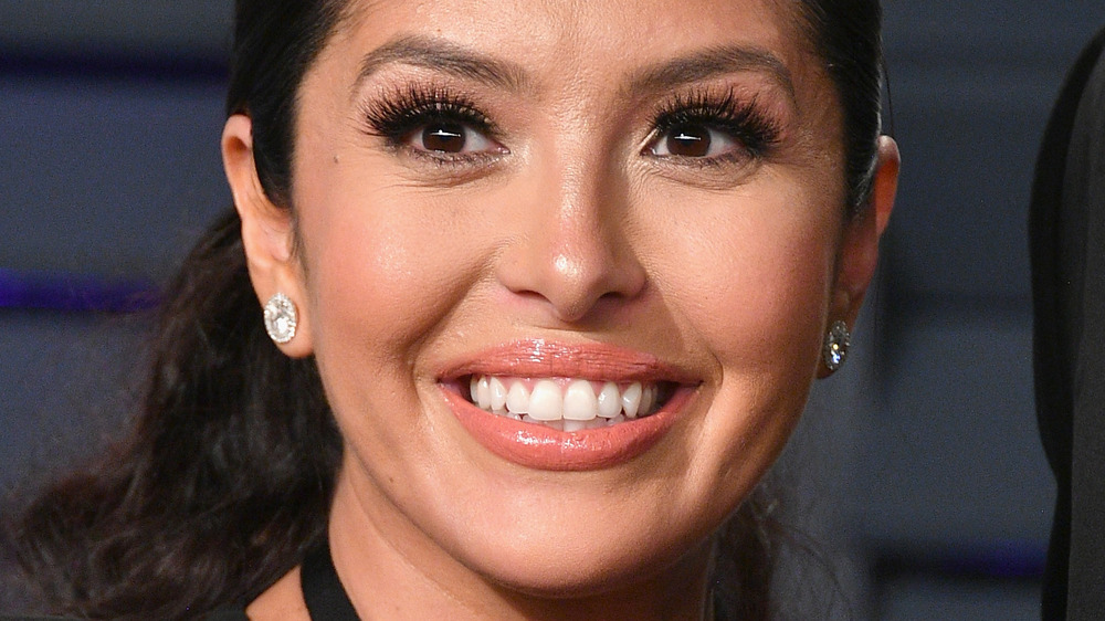 Vanessa Bryant smiling on the red carpet