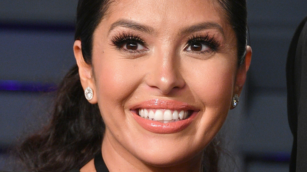 Vanessa Bryant smiling