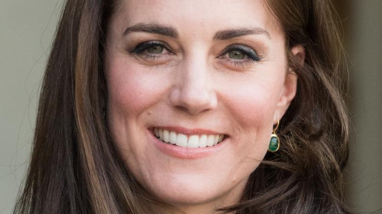 Kate Middleton smiles in 2017