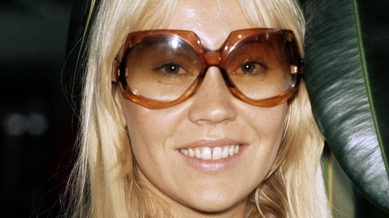 Agnetha Fältskog smiling