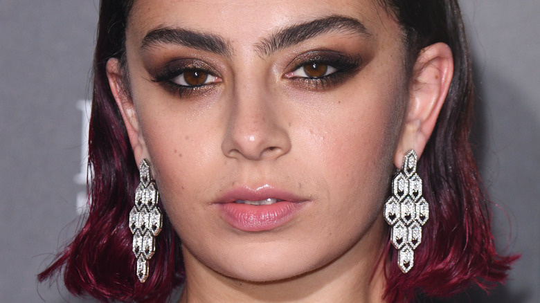 Charli XCX on the red carpet