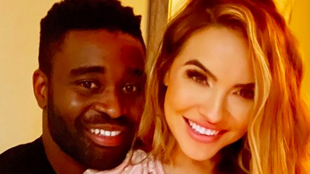 Keo Motsepe and Chrishell Stause take a selfie