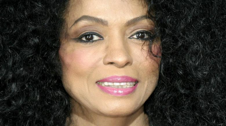 Diana Ross smiling