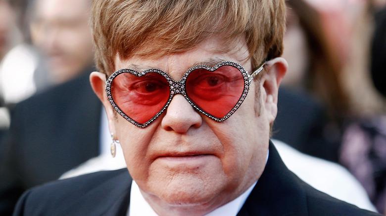 Elton John at 'Rocketman' premiere in 2019