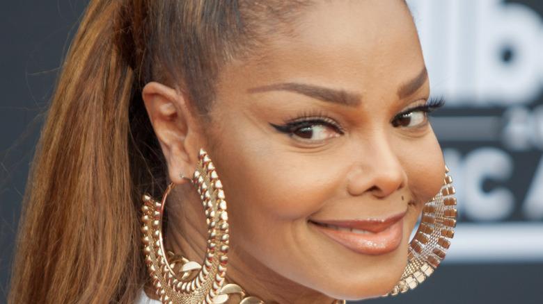 Janet Jackson smiling