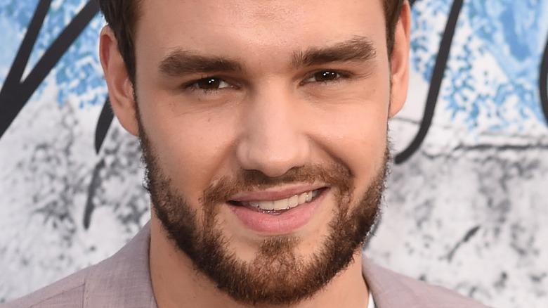 Liam Payne smiling