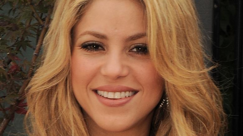 Shakira smiling