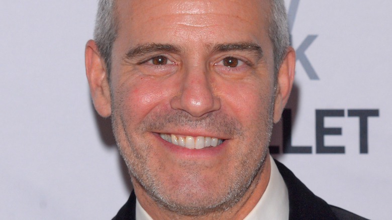 Andy Cohen, posing