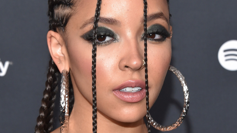 Tinashe gazing in front