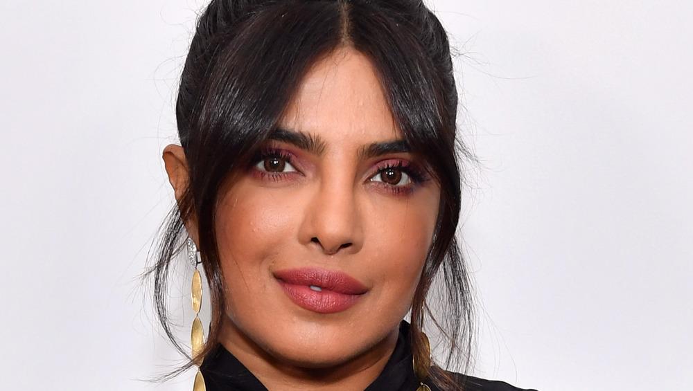 Priyanka Chopra smiling with head tilted