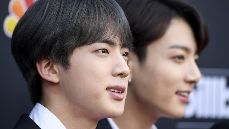 Jin and Jungkook from BTS