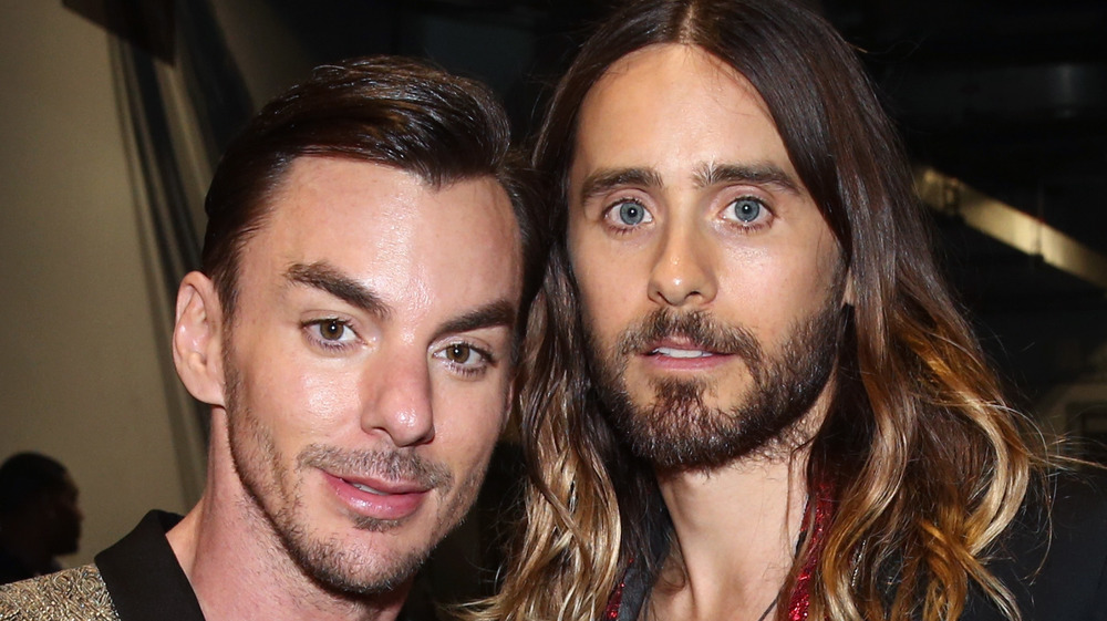 Shannon Leto and Jared Leto together