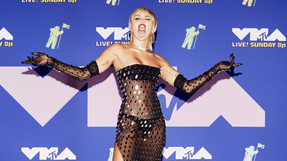 Miley Cyrus at the MTV VMAs