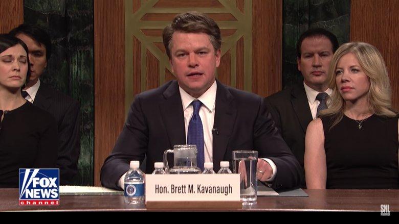 Matt Damon SNL