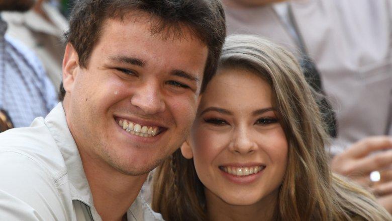 Chandler Powell and Bindi Irwin