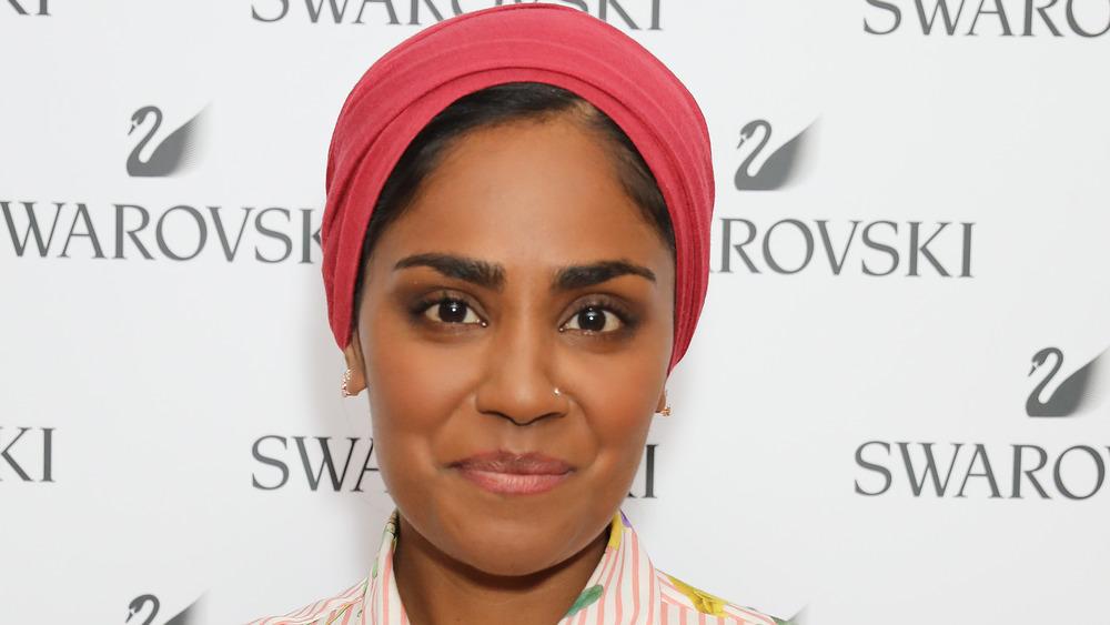 Nadiya Hussain posing