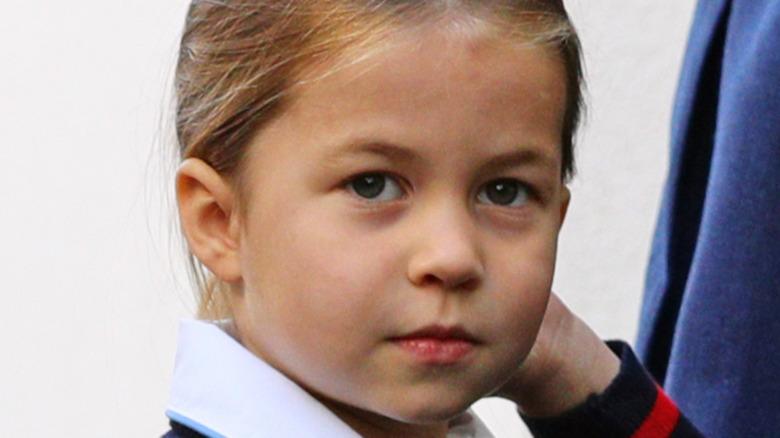 Princess Charlotte poses