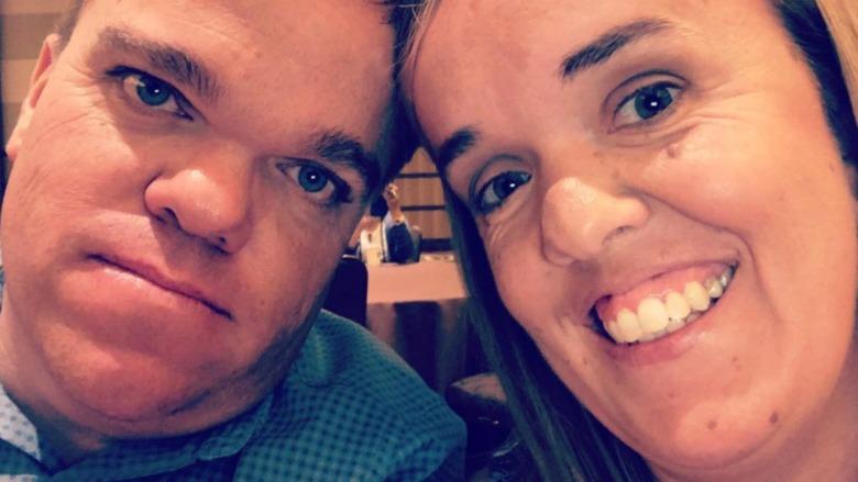 Trent and Amber Johnston selfie